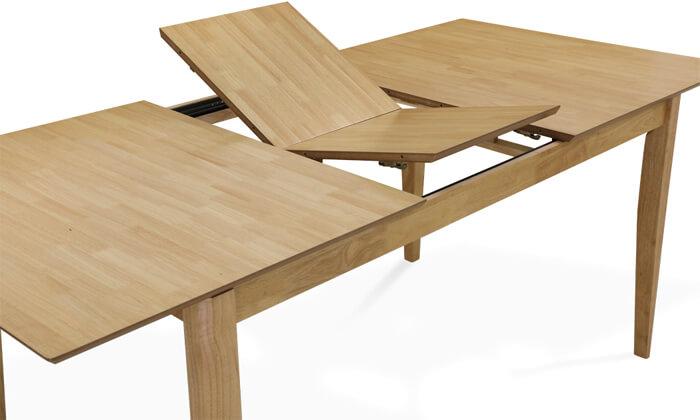 8 שמרת הזורע: פינת אוכל נפתחת עם  כיסאות