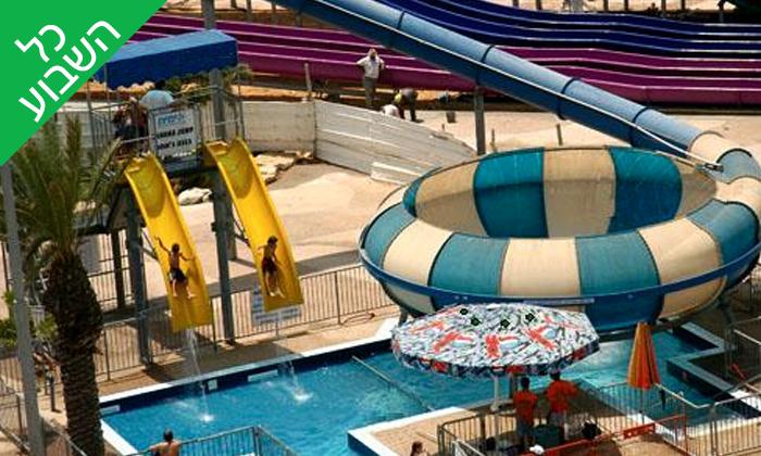 8 ספארק המים ימית חולון: בריכות, מגלשות ואטרקציות לכל המשפחה
