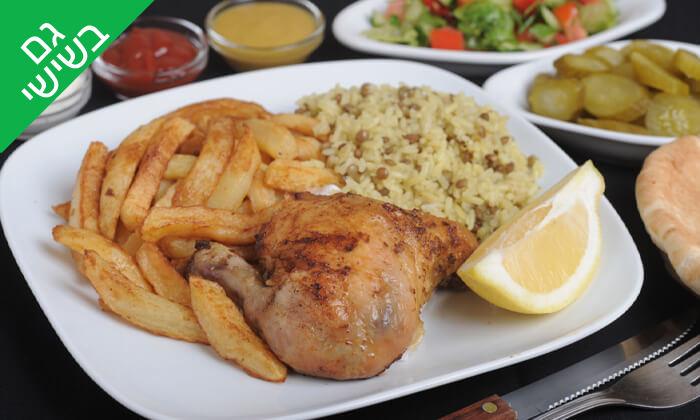 3 ארוחה בשרית במסעדת חצ'פוריקס, תל אביב