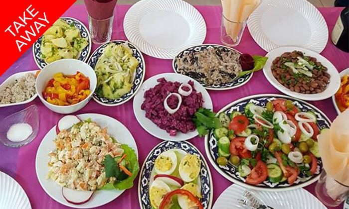 3 ארוחה ב-Take Away ממסעדת חצ'פוריקסהגאורגית, תל אביב