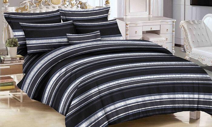 6 סט מצעים למיטת יחיד או למיטה זוגית