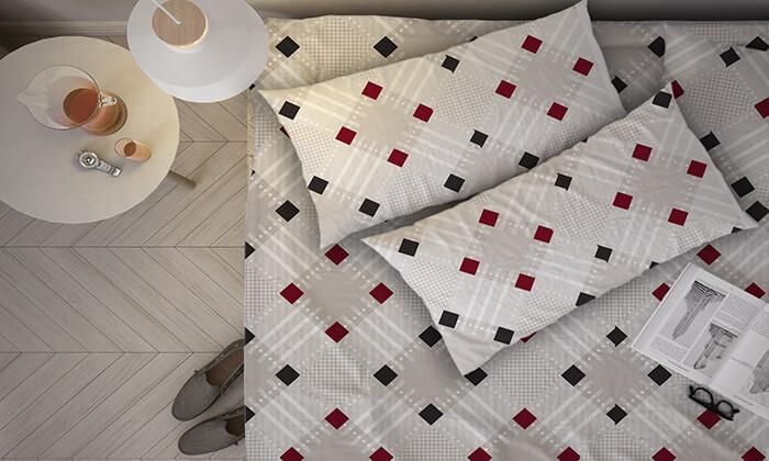 7 סט מצעים למיטת יחיד או למיטה זוגית