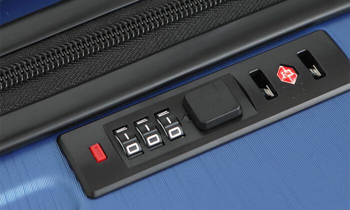 4 סט 3 מזוודות קשיחות סוויס SWISS
