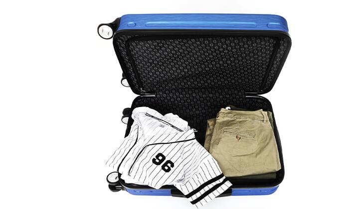 3 מחיר מיוחד לזמן מוגבל: סט 3 מזוודות קשיחות סוויס SWISS