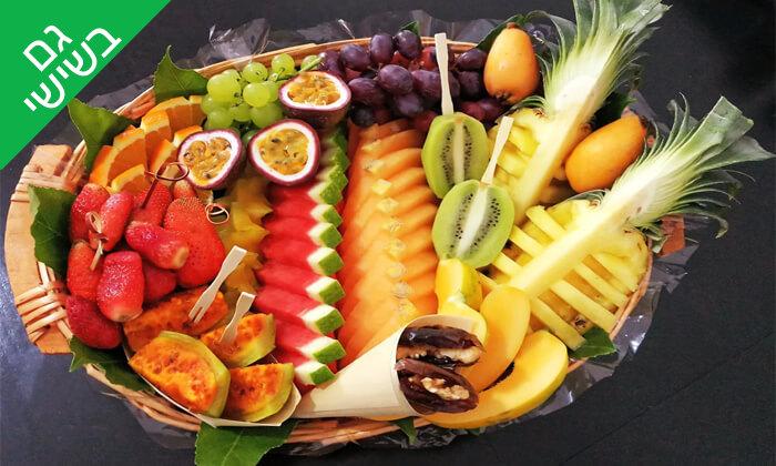 2 מגשי פירות מעוצבים - פירות הטוב והמטיב, חולון