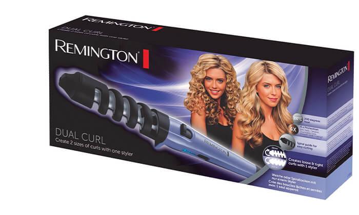 4 מסלסל שיער REMINGTON רמינגטון דגםCI63E1