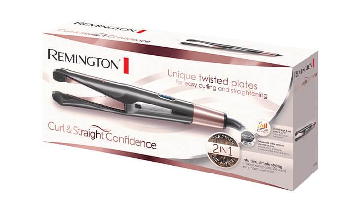 3 מחליק ומסלסל שיער REMINGTON רמינגטון דגםS6606