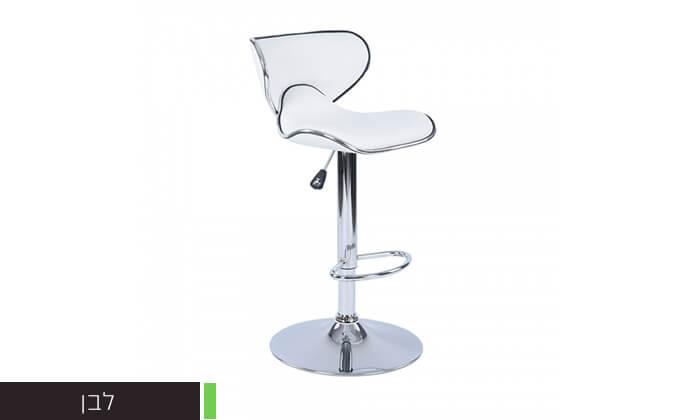 3 כיסא בר בריפוד דמוי עור HOMAX