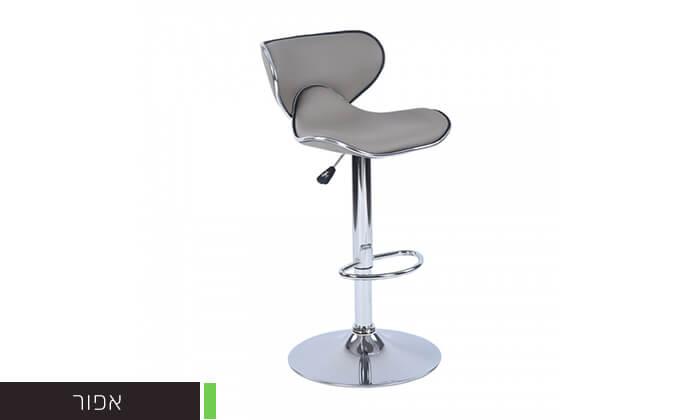 5 כיסא בר בריפוד דמוי עור HOMAX