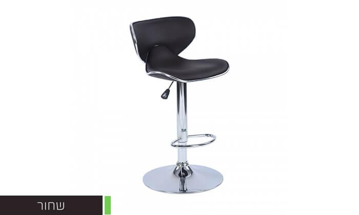 7 כיסא בר בריפוד דמוי עור HOMAX