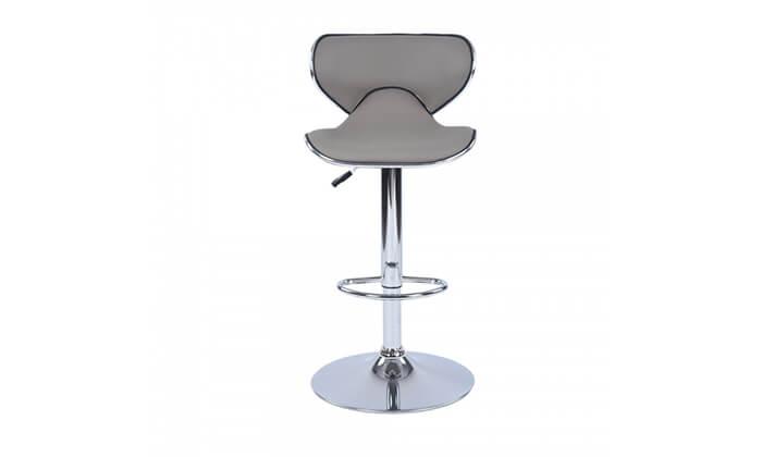 8 כיסא בר בריפוד דמוי עור HOMAX