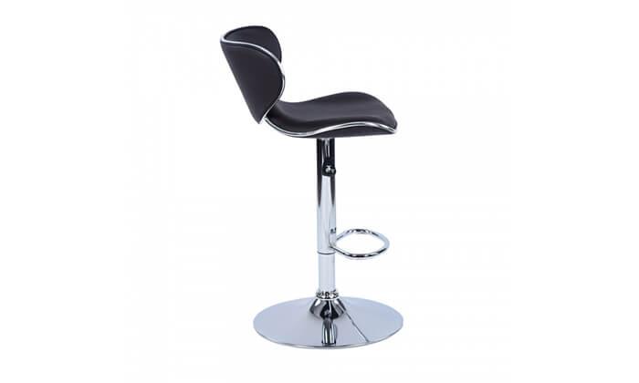 9 כיסא בר בריפוד דמוי עור HOMAX