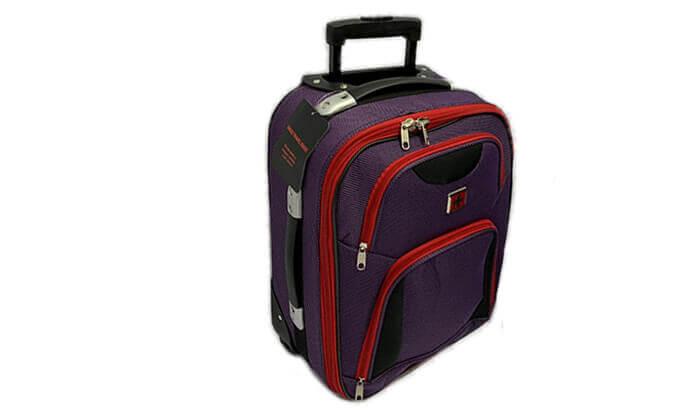 5 מזוודה 25 אינץ' סוויס SWISS