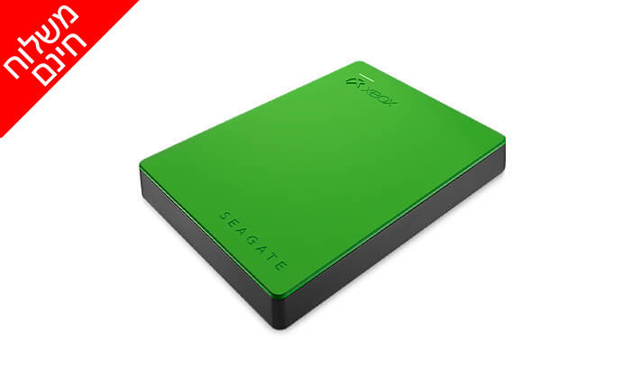 4 דיסק קשיח חיצוני SEAGATE לקונסולות XBOX - משלוח חינם