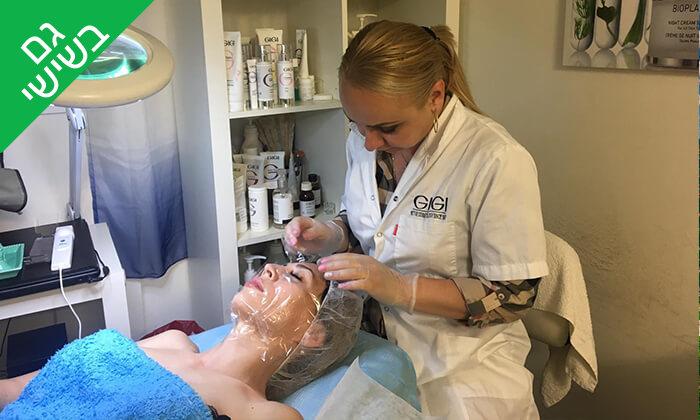 2 טיפולי פנים בקליניקה של יוליה צירטקוב, פתח תקווה