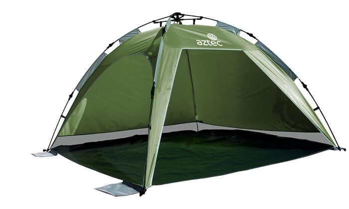 2 אוהל חוף Aztec Shadome HD