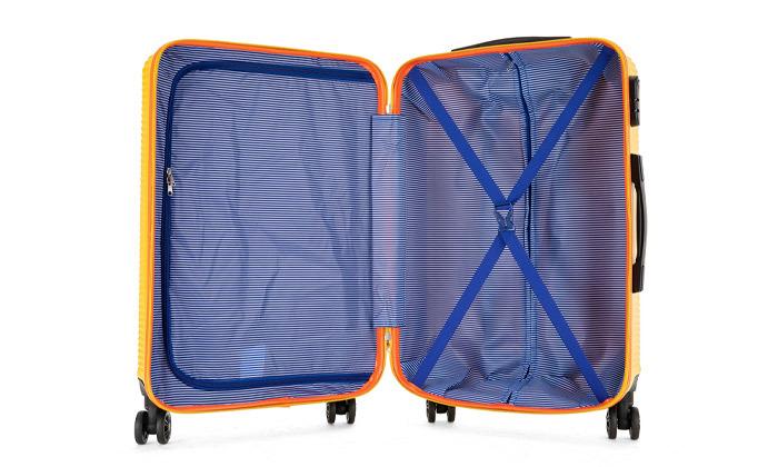 3 סט 3 מזוודות קשיחות SWISS ALPS במבחר צבעים
