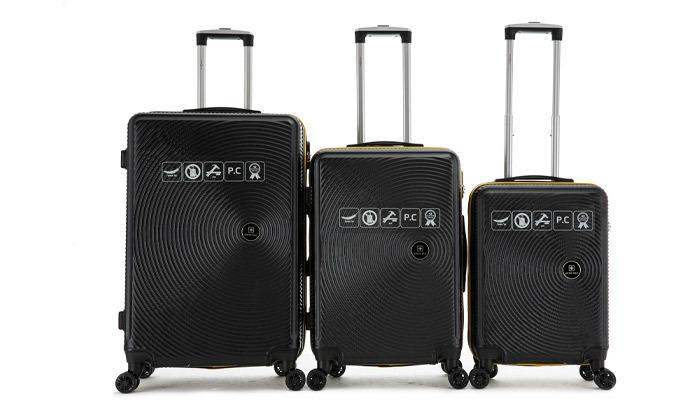 14 סט 3 מזוודות קשיחות SWISS ALPS