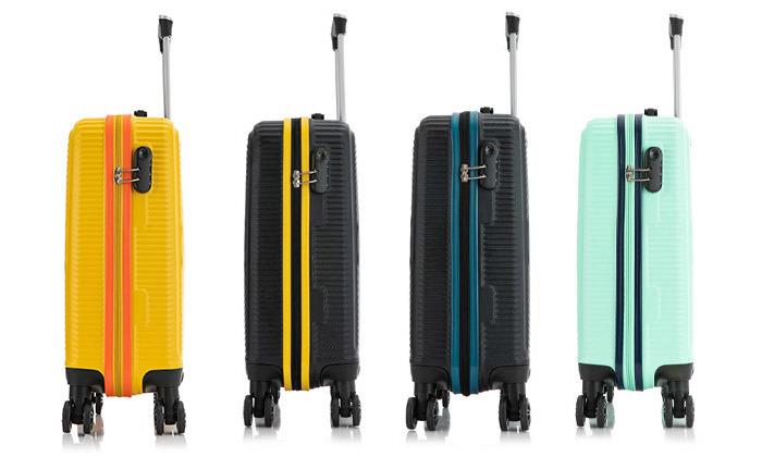 12 סט 3 מזוודות קשיחות SWISS ALPS