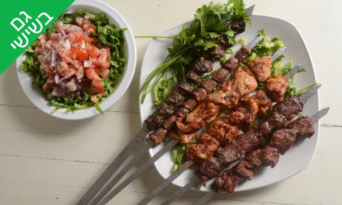 2 ארוחה זוגית במסעדת 'תרשיש 9', אילת