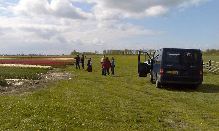 4 טיול יומי לחיטהורן, הולנד - יציאה מאמסטרדם