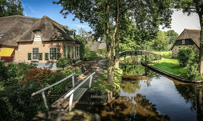 2 טיול יומי לחיטהורן, הולנד - יציאה מאמסטרדם