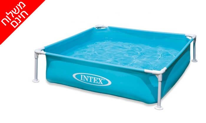 4 בריכה אינטקס INTEX - משלוח חינם