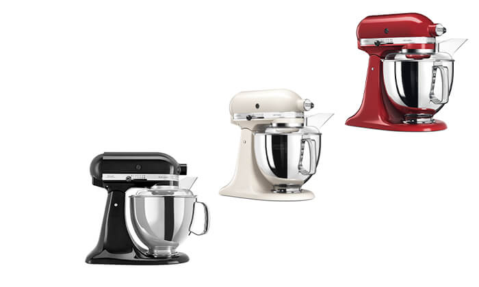 2 מיקסר KitchenAid