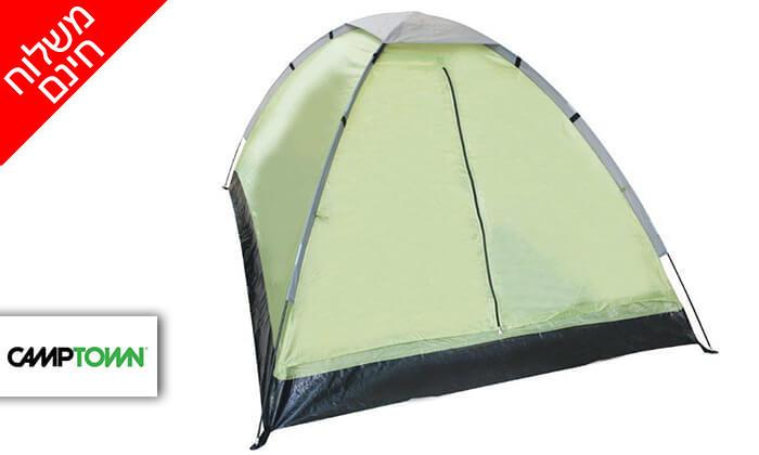 2 אוהל איגלו CAMPTOWN