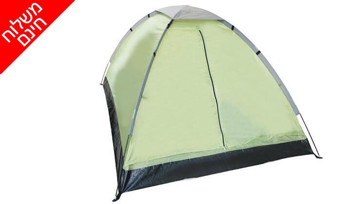 4 אוהל איגלו CAMPTOWN