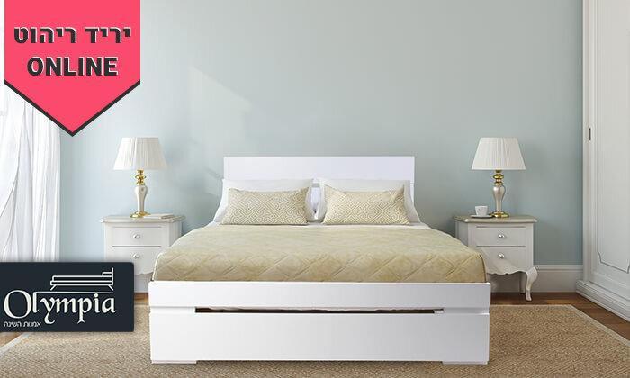 2 מיטה זוגיתאולימפיה,דגם 7031