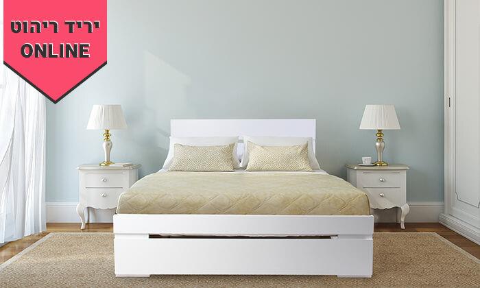 4 מיטה זוגיתאולימפיה,דגם 7031