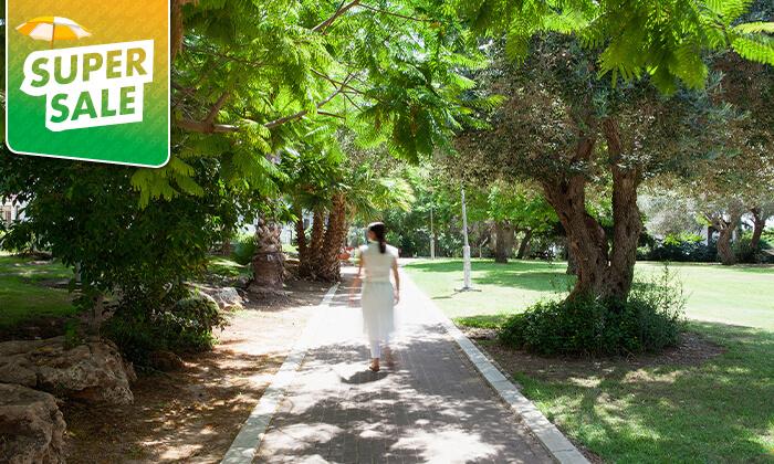 8 מלון עדן אין: חופשה בזכרון יעקב, כולל עיסוי זוגי