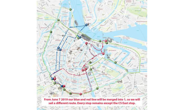 5 אמסטרדם עם אוטובוס וסירה Hop On-Hop Off - כרטיס משולב