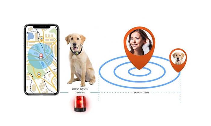 4 מכשיר איתור לכלבים וחתולים