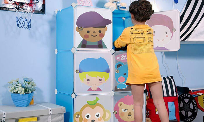 כוורת מודולרית לחדרי ילדים -כולל משלוח חינם