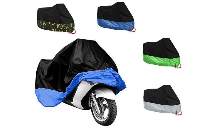 3 כיסוי XL לאופנוע ואופניים במגוון צבעים לבחירה