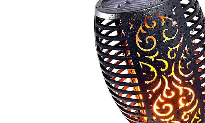 6 לפיד LED סולארי HOMAX