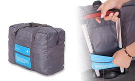 תיק נסיעות מתקפל לידית המזוודה
