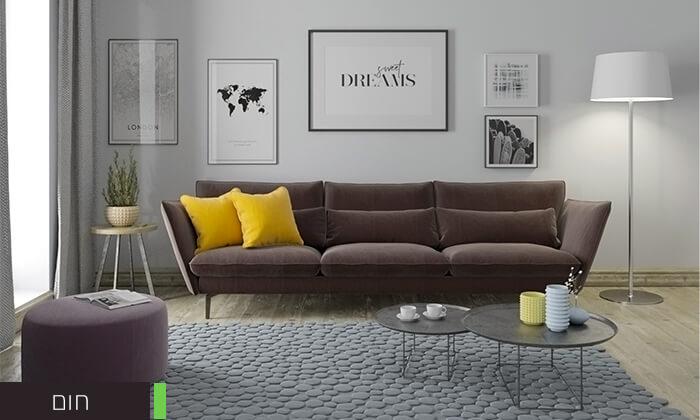 6 ספה תלת מושבית RAM DESIGN