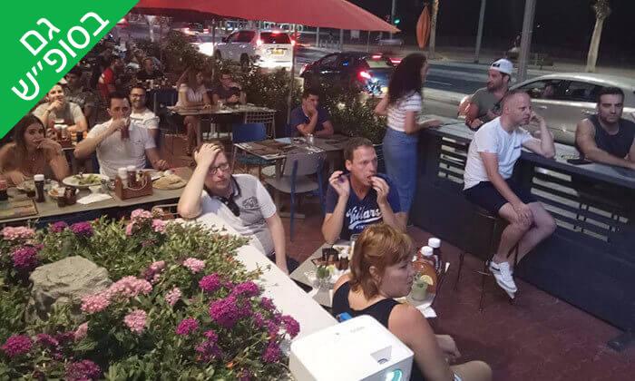 10 ארוחת המבורגר ב-Hamburg, טיילת תל אביב