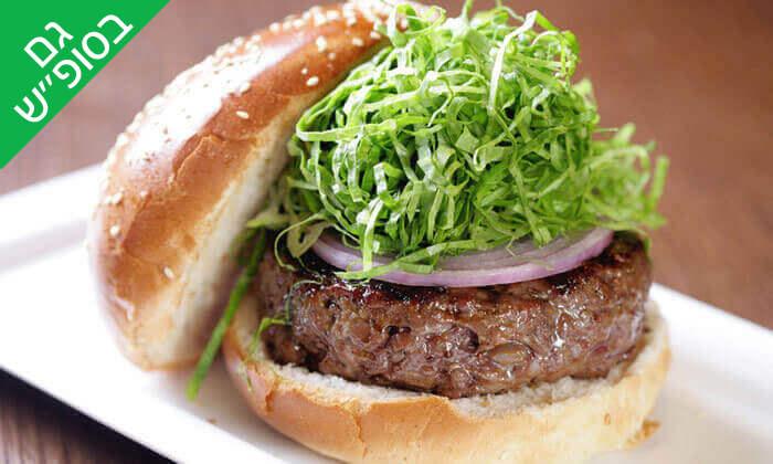 11 ארוחת המבורגר ב-Hamburg, טיילת תל אביב