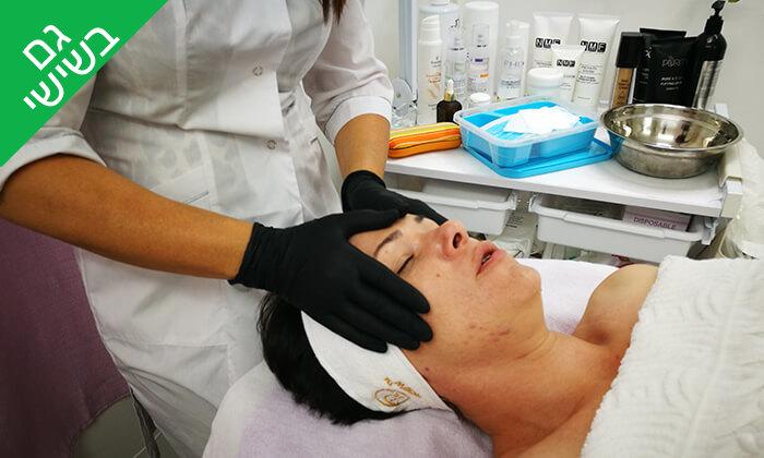 5 טיפולי פנים לבחירה בקליניקה של אלה ארונוב, ראשון לציון