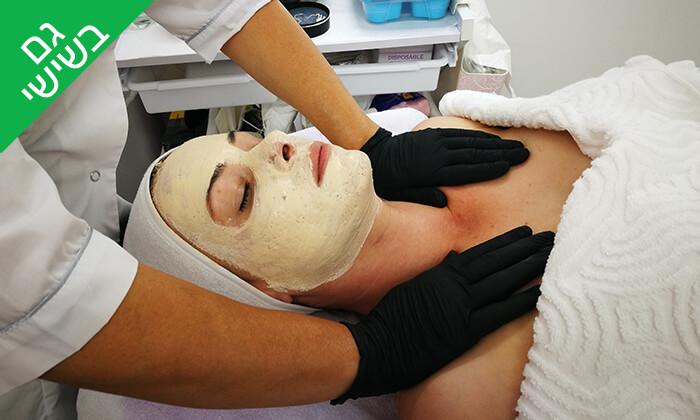 2 טיפולי פנים לבחירה בקליניקה של אלה ארונוב, ראשון לציון