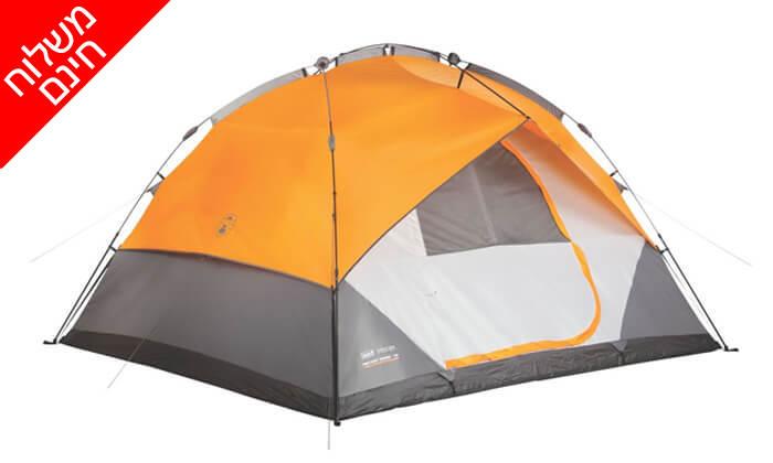 2 אוהל 7 אנשים נפתח ברגע Coleman - משלוח חינם!
