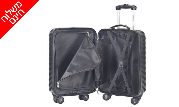3 סט 3 מזוודות SWISS GLOBAL BAGS - משלוח חינם