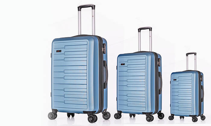 10 סט 3 מזוודות קשיחות SWISS