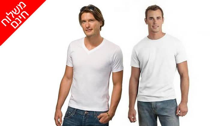 9 דיל ל-72 שעות- סט 9 חולצות טי לגברים SANTA BARBARA POLO CLUB - משלוח חינם