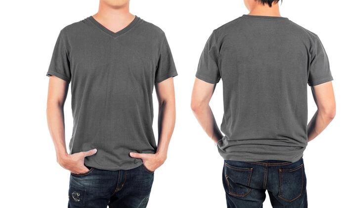 3 מארז 4 חולצות טי לגברים Fruit of the Loom