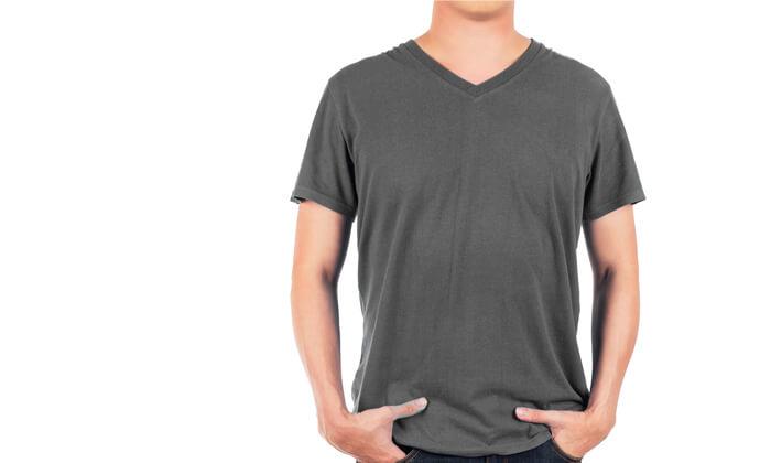 4 מארז 4 חולצות טי לגברים Fruit of the Loom